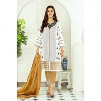 Decor Fashion White Crimson PM1305 Formal Wear