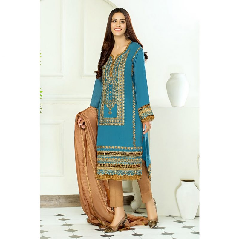 Decor Fashion Blue Noir PM1296 Formal Wear