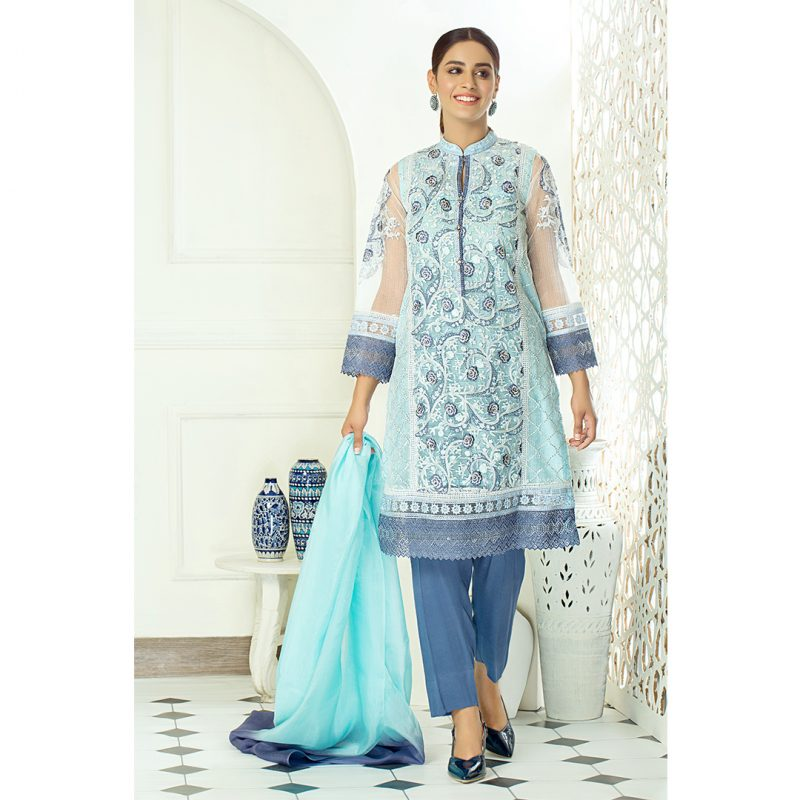 Decor Fashion Blue Muse PM1313 Formal Wear
